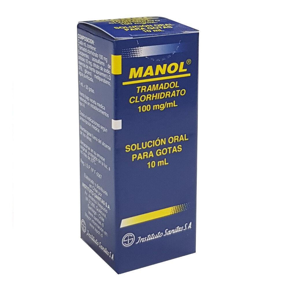 manol 100 mg/ml x 10 ml solución oral para gotas