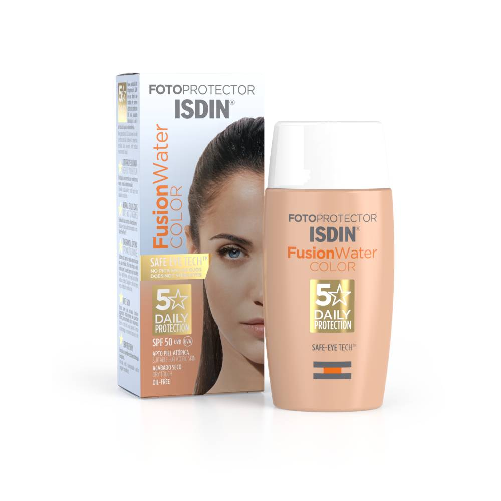 isdin® fotoprotector fusion water color fps 50 x 50 ml