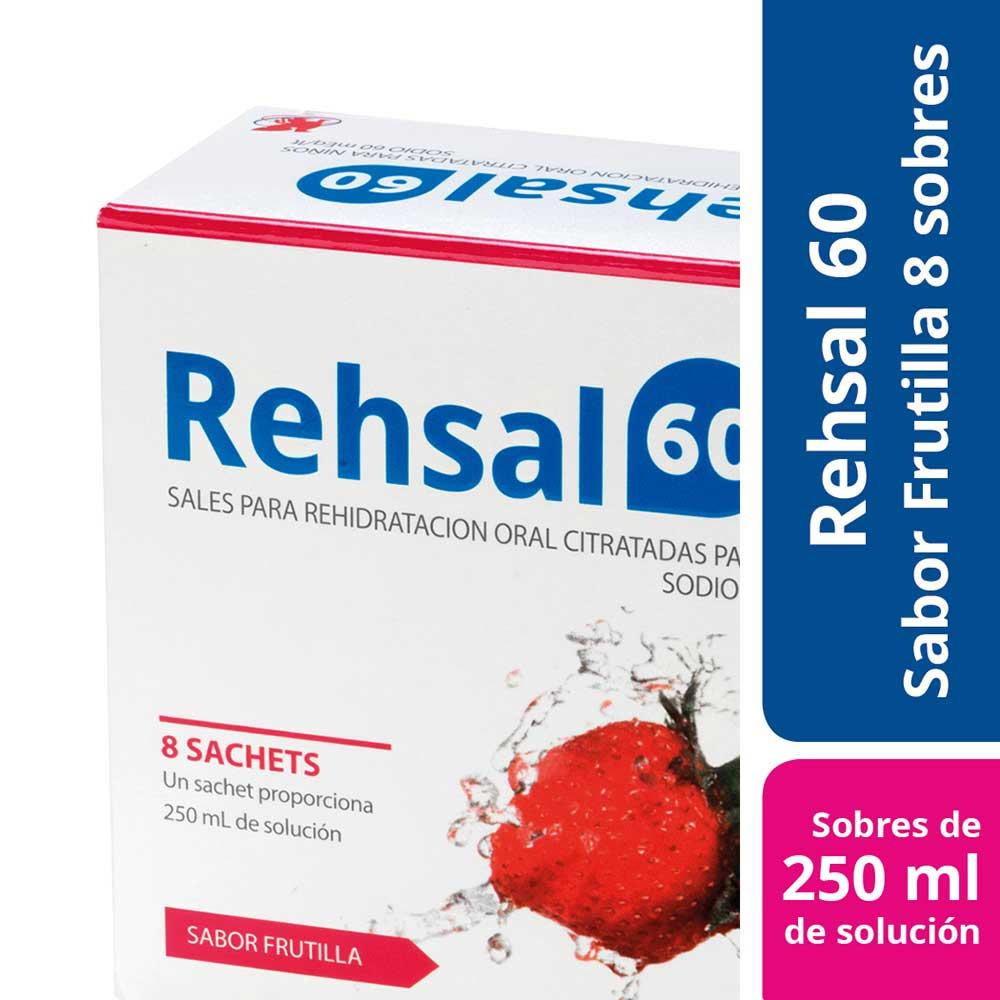 rehsal 60 x 8 sobres polvo para solución oral