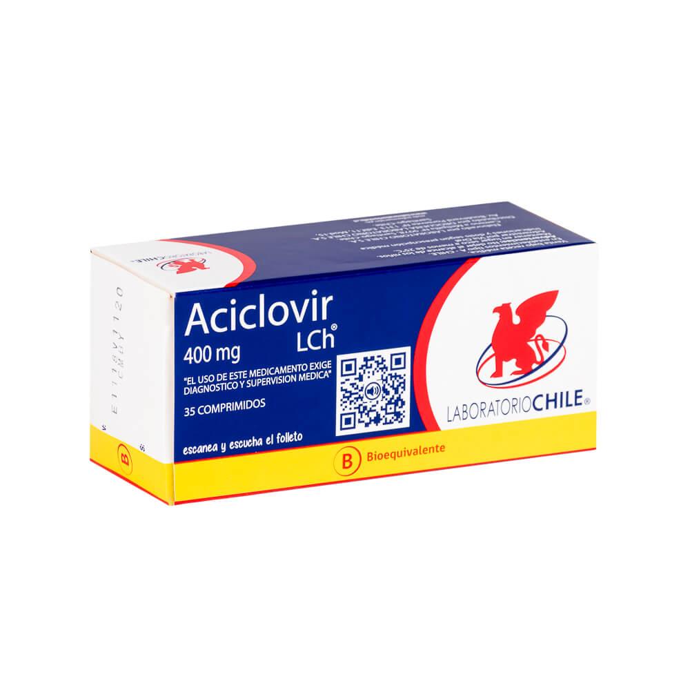 aciclovir 400 mg x 35 comprimidos