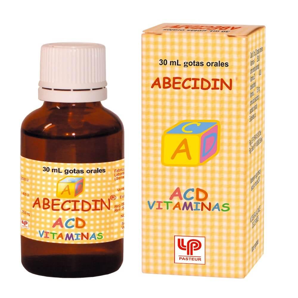 abecidin acd x 30 ml solución oral para gotas