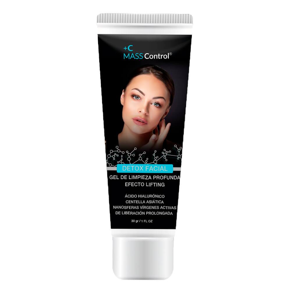 masscontrol detox facial x 30 ml gel topico