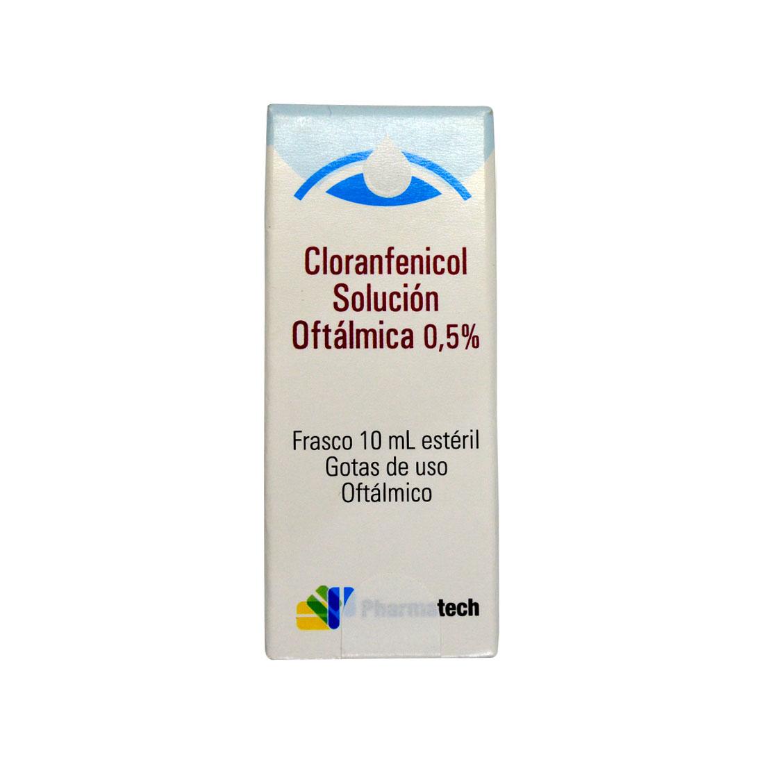 cloranfenicol 0,5% x 10 ml solucion oftalmica