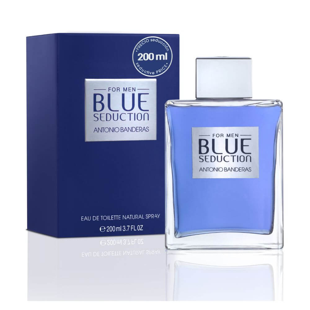 antonio banderas eau de toilette blue seduction for men edición limitada con atomizador x 200 ml