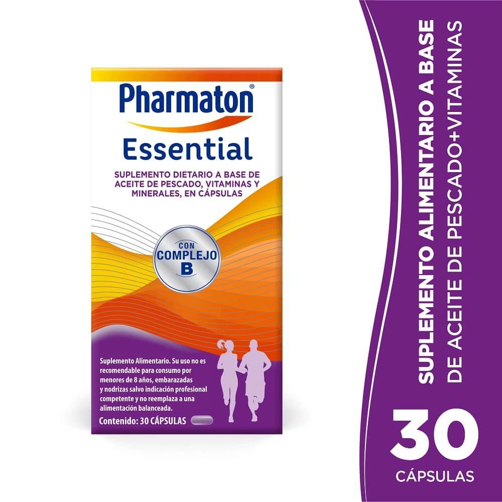 pharmaton essential x 30 capsulas