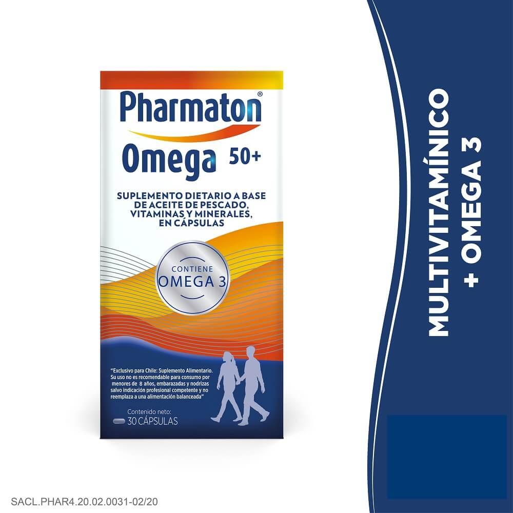 pharmaton omega 50+ x 30 cápsulas