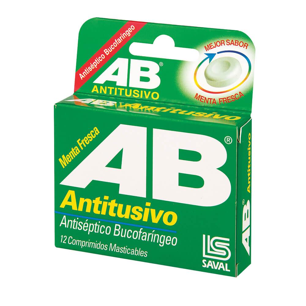 ab antitusivo x 12 comprimidos masticables
