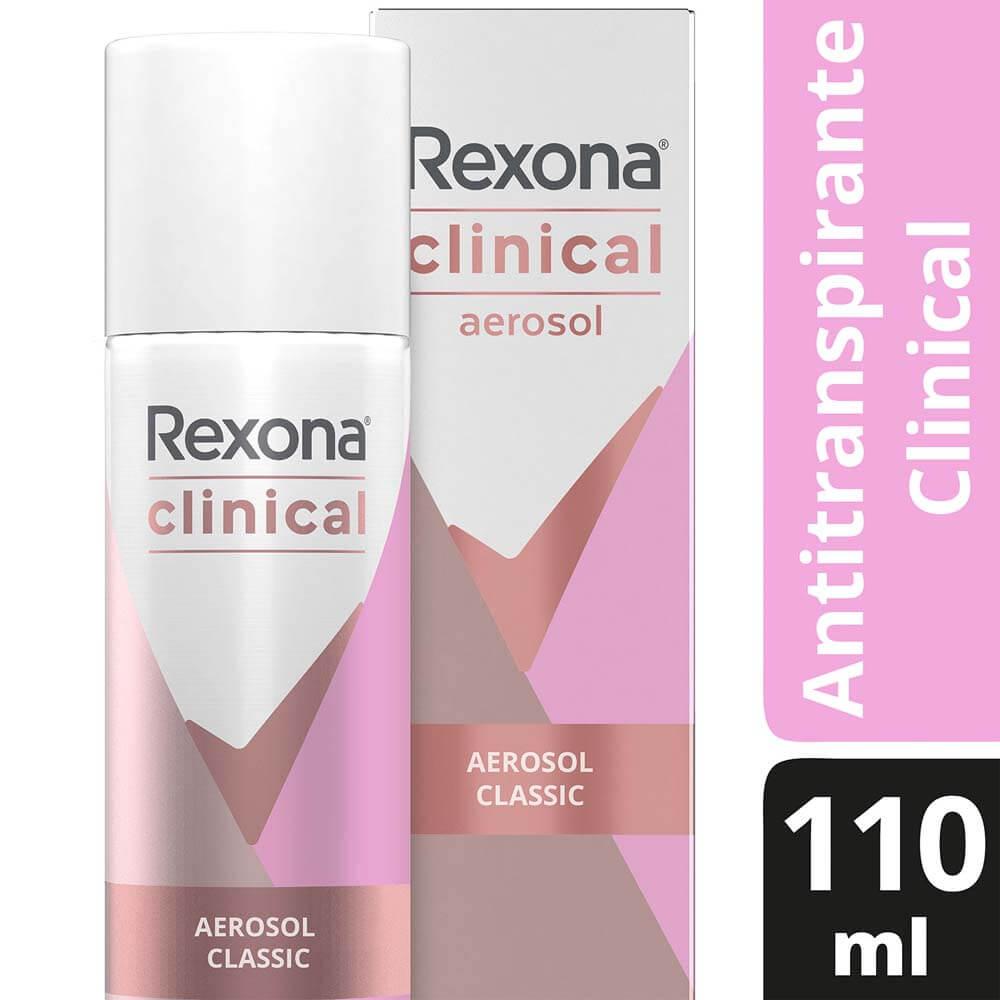 rexona antitranspirante spray clinical classic x 110 ml