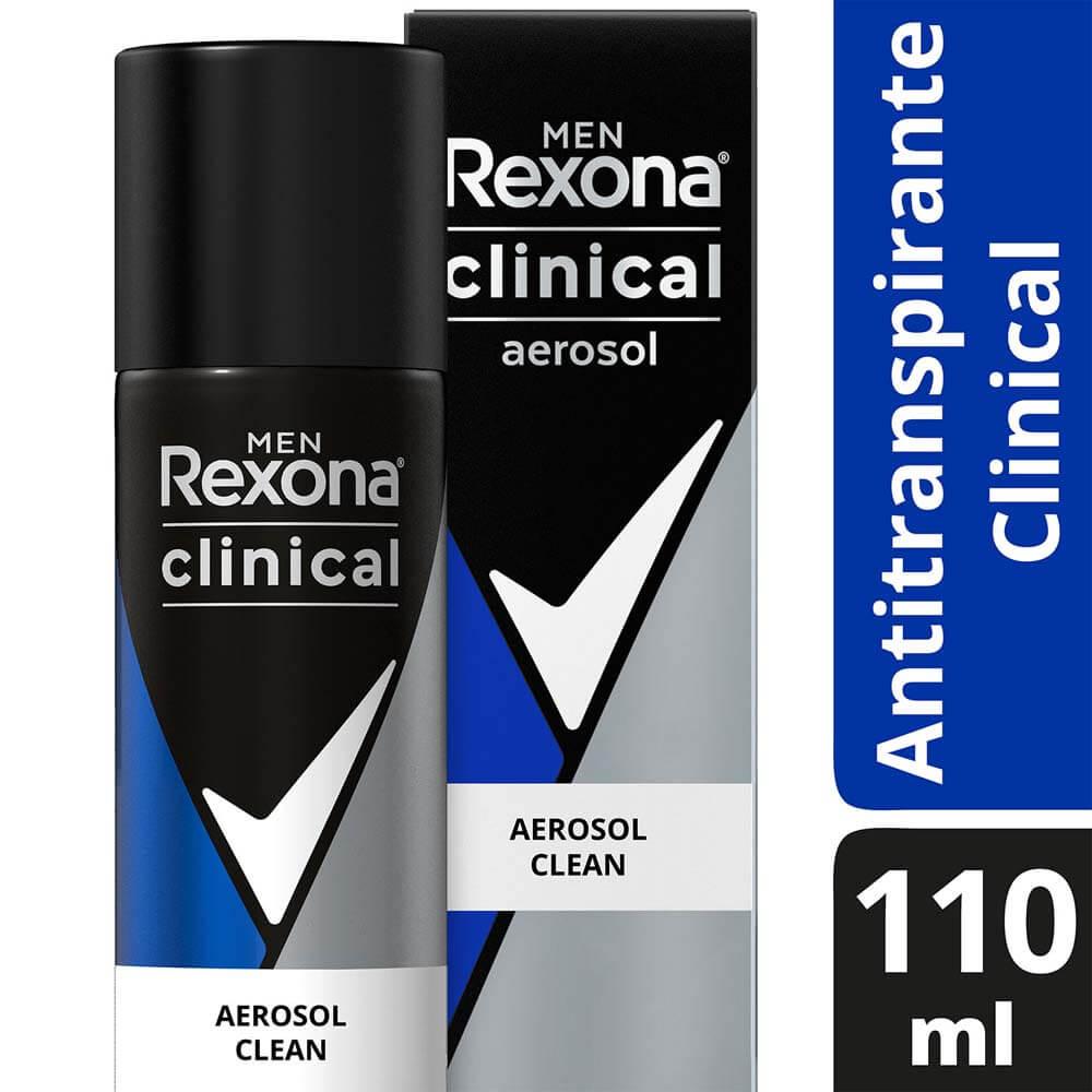 rexona antitranspirante spray clinical men clean x 110 ml