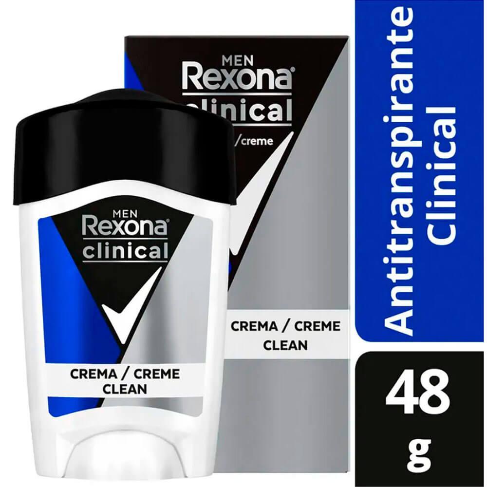 rexona desodorante clinical soft solid men x 48 g