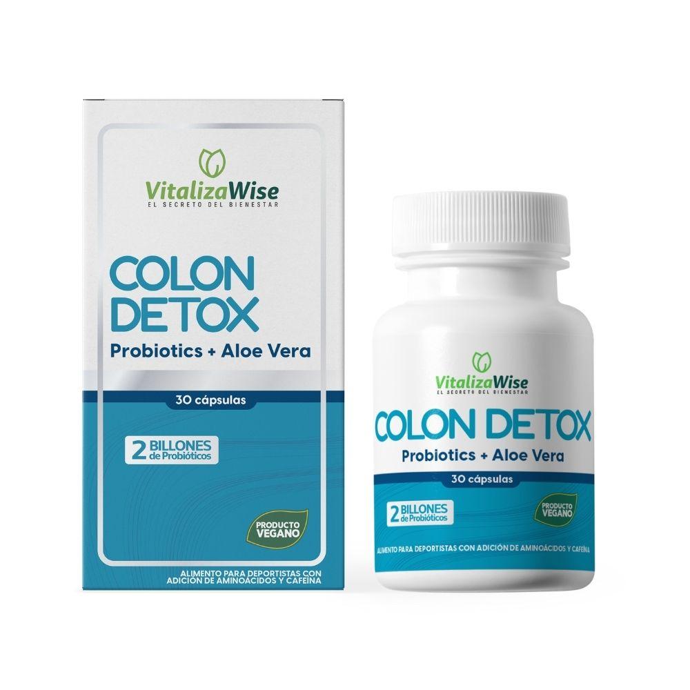 vitalizawise  colon detox x 30 capsulas