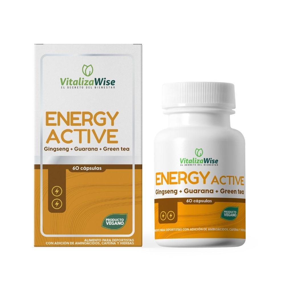 vitalizawise  energy active x 60 capsulas