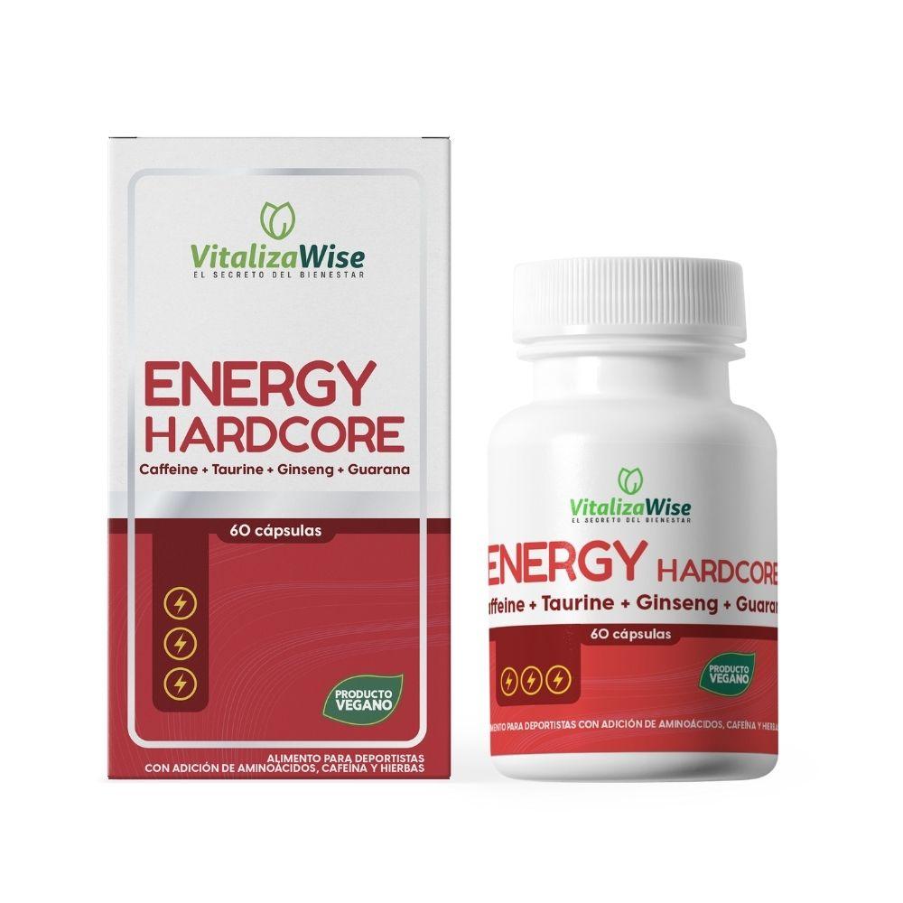 vitalizawise  energy hardcore x 60 capsulas