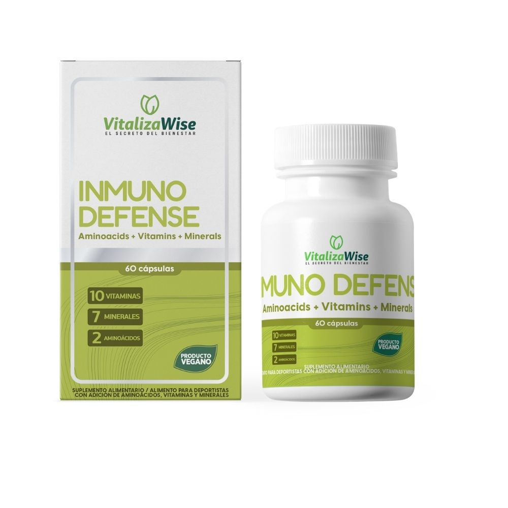 vitalizawise  inmuno defense x 60 capsulas