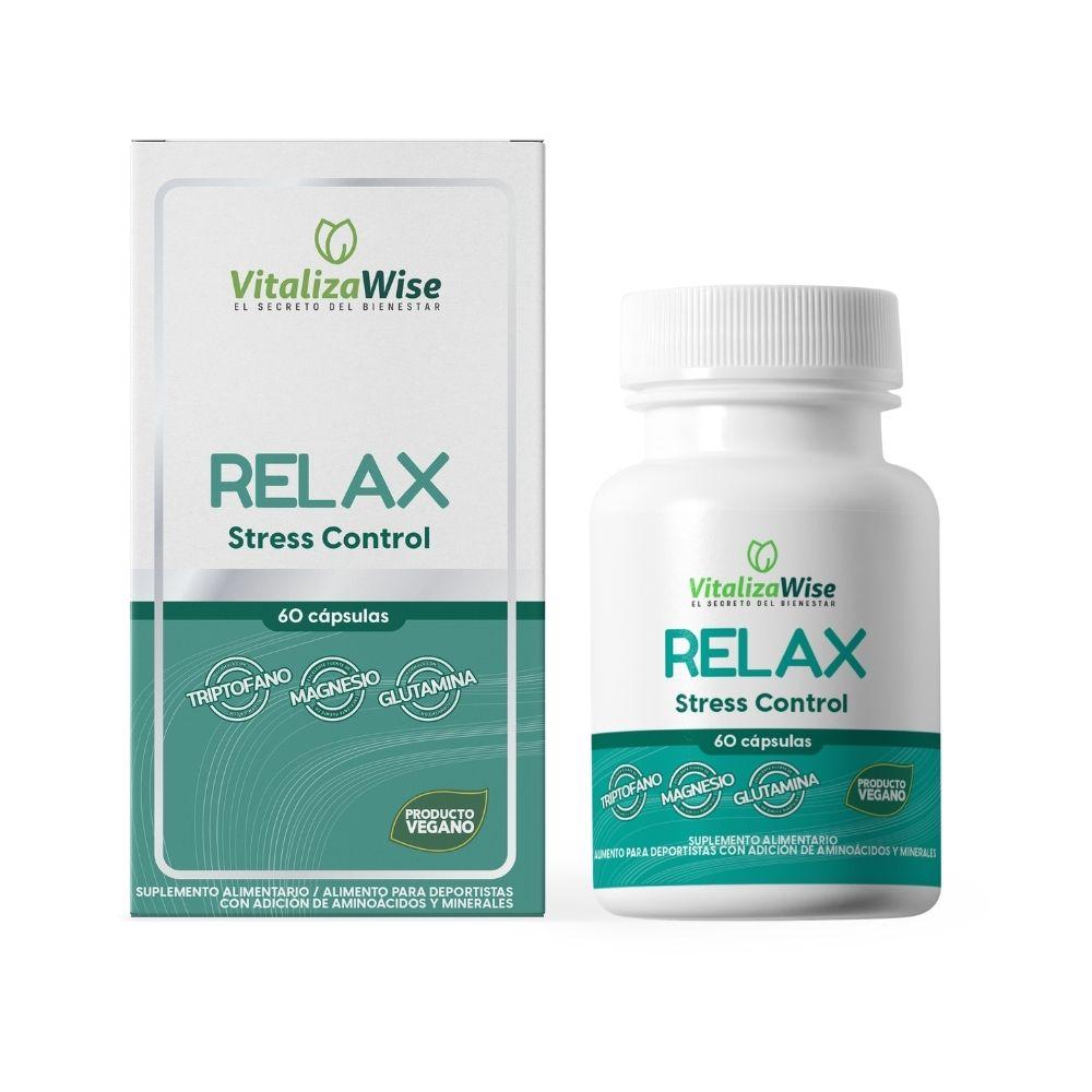 vitalizawise  relax x 60 capsulas