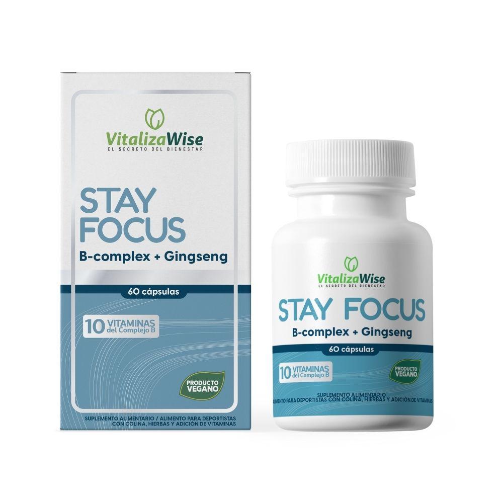 vitalizawise  stay focus x 60 capsulas