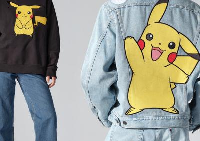 Levi´s lança coleção Pokémon