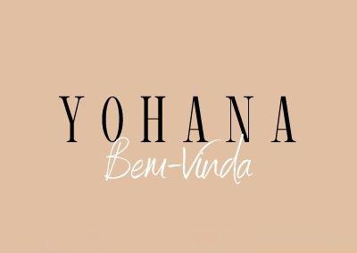 Boas vindas Yohana