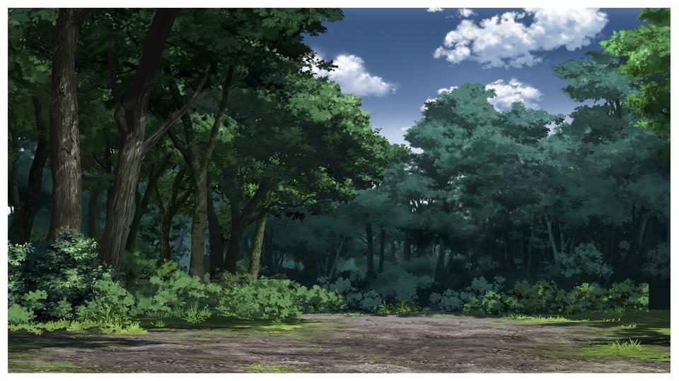 Membuat Gambar Background 2D Untuk Animasi Kartun Atau Game.