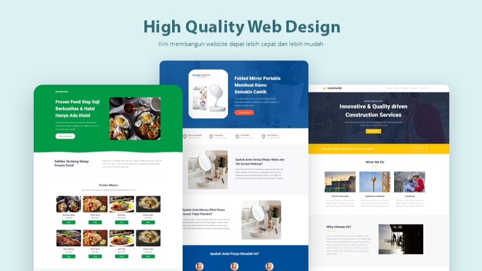 Jasa Pro Web Design/ Mobile Apps Design