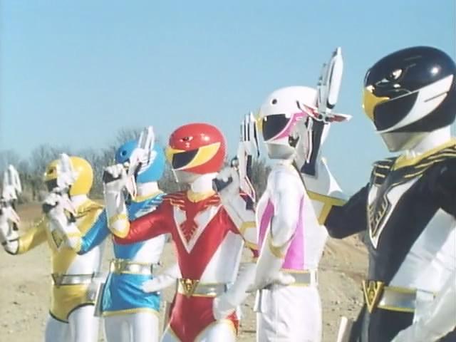 Choujin Sentai Jetman (1991–1992)