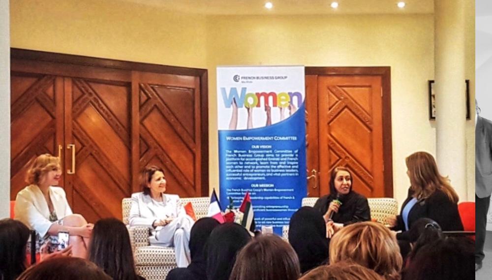 WE Committee reçoit Fatma al Jaber et Diane de Saint Victor pour débattre de l'mpact des valeurs personnelles sur la vie professionnelle