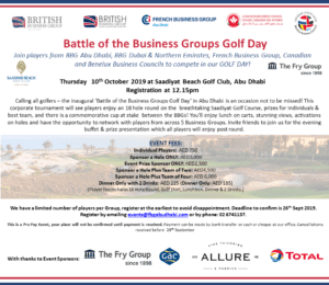 Battle of the Business Group - GOLF DAY