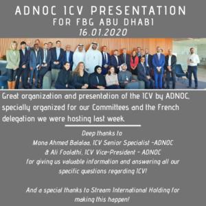 ADNOC ICV Presentation 16.01.2020