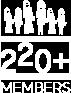 220+ Members