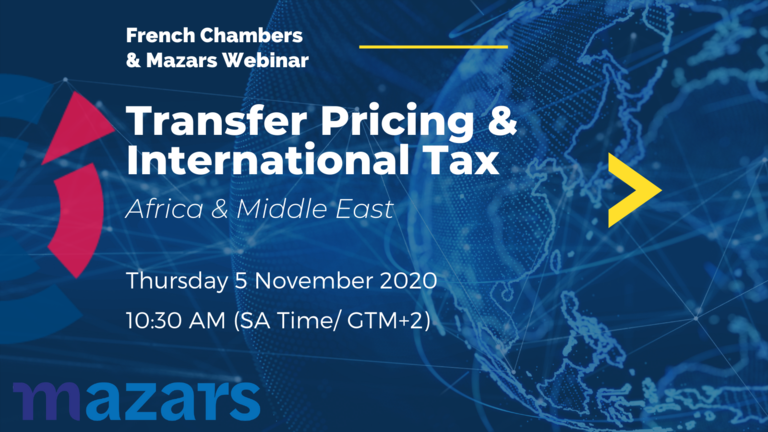 Transfer Pricing and International Tax Africa & Middle East By Mazars 11.2020
