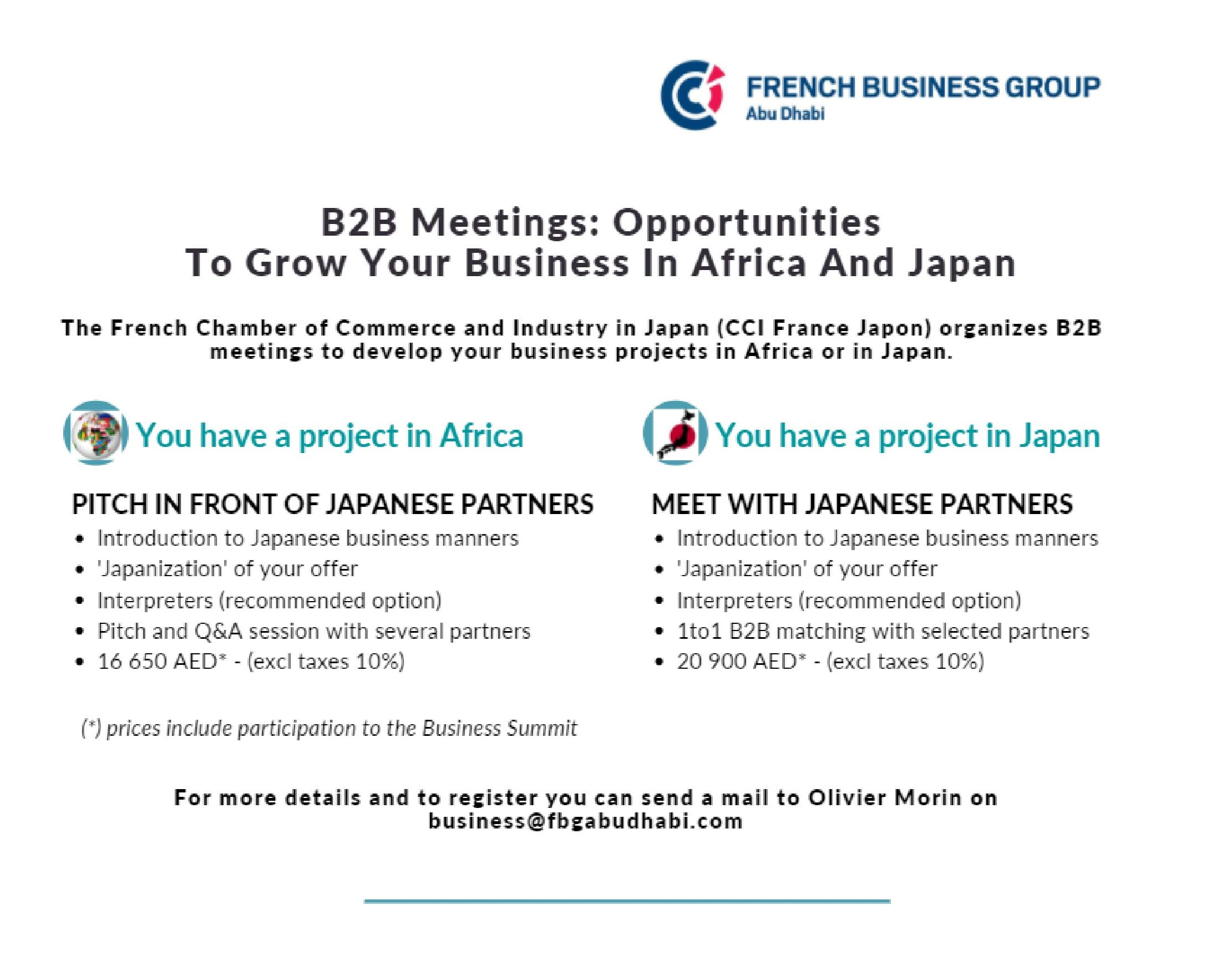 French Japanese Business Summit by the CCI France Japan 11.2020