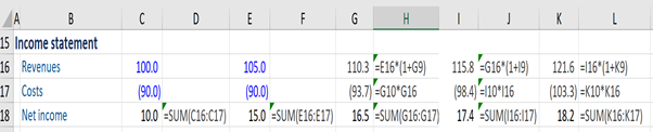 financial-modeling-income-statement-excel