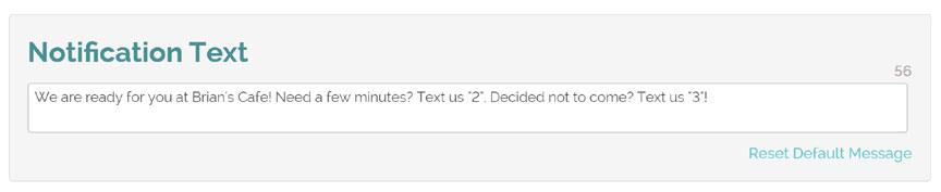 text responses
