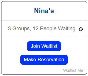 web widget ninas
