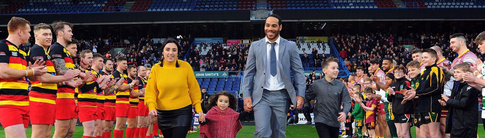 Huddersfield Giants vs Dewsbury Rams - 14/01/2018