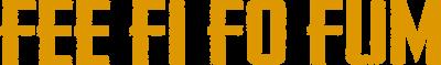 Fee Fi Fo Fum Logo