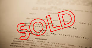 Screenplay sold