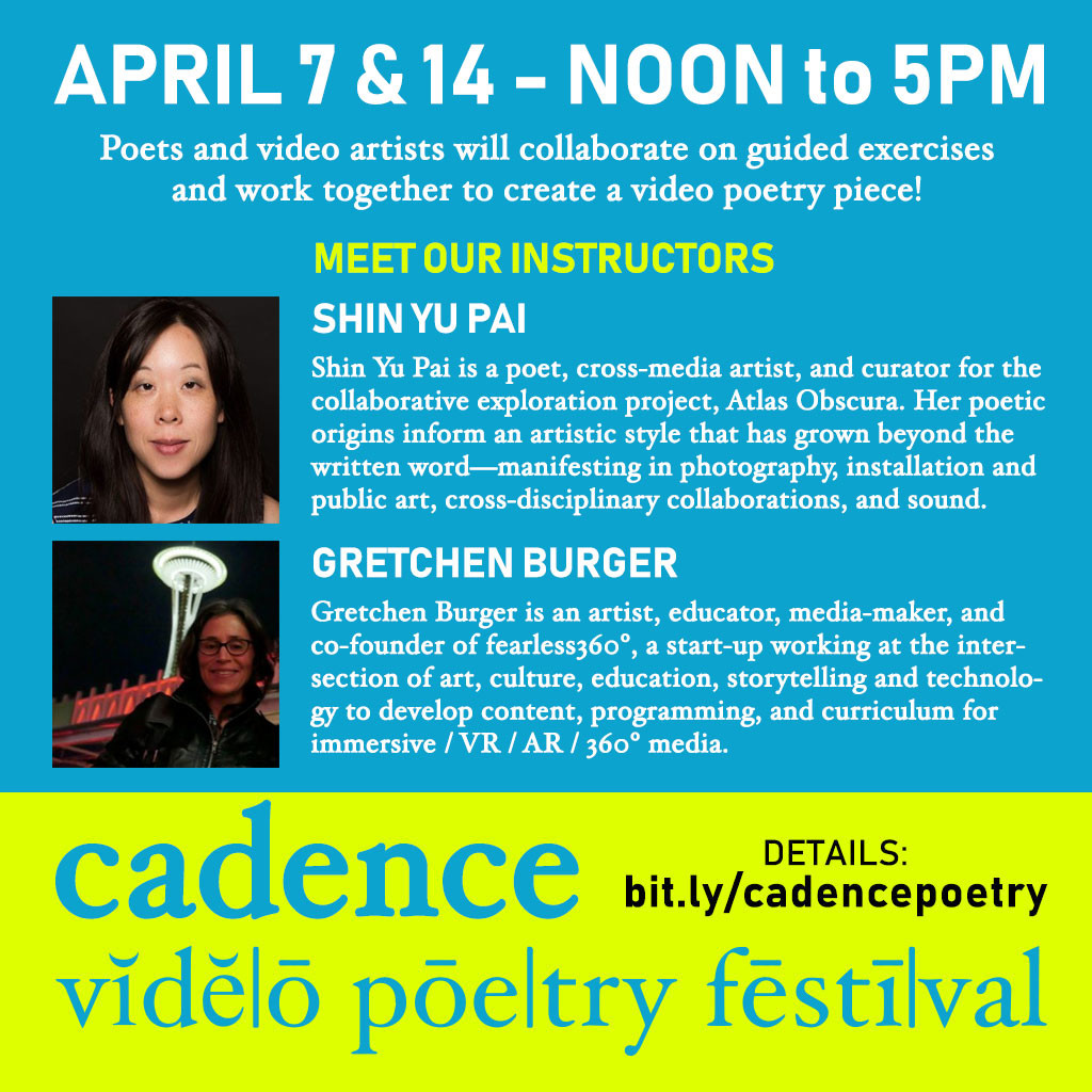 Photos of Cadence Video Poetry Festival - FilmFreeway