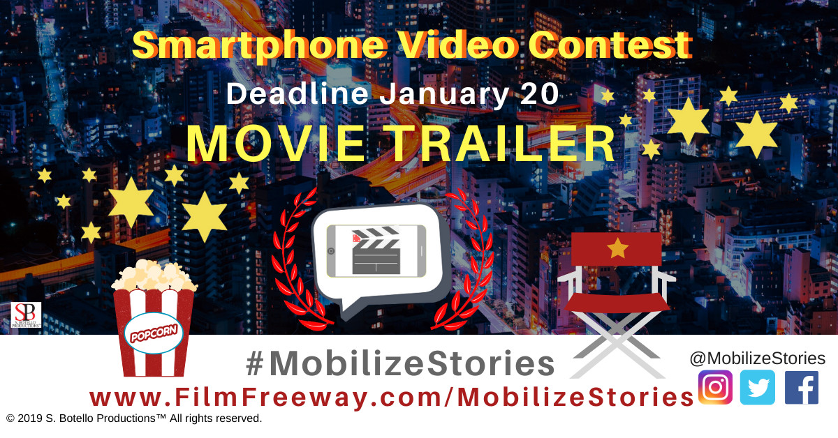 Smartphone video contest   movie trailer