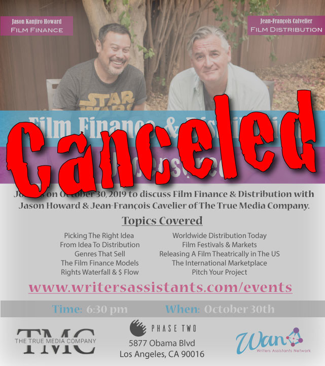 Main flyer canceled