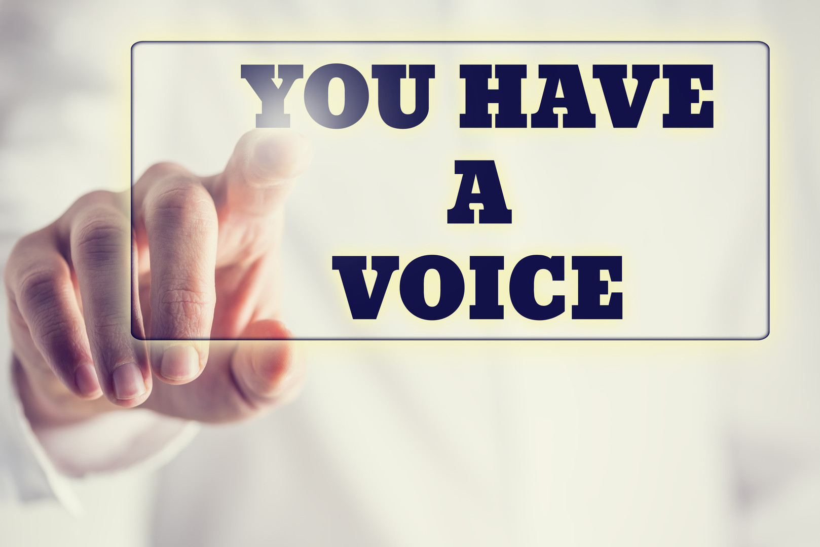 Photodune 7762280 you have a voice m