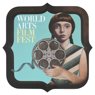 Girl and film image