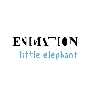 Enimation little elephant