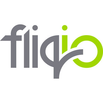Fliqio logo on white 2