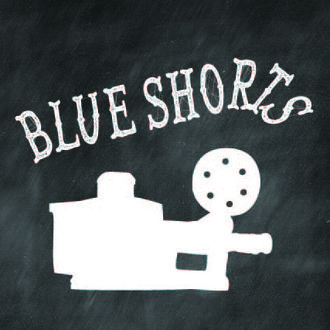 Blue shorts poster copy
