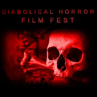 Diabolical square logo
