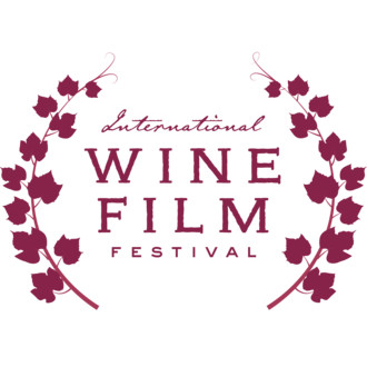 Wine film festival logo icon