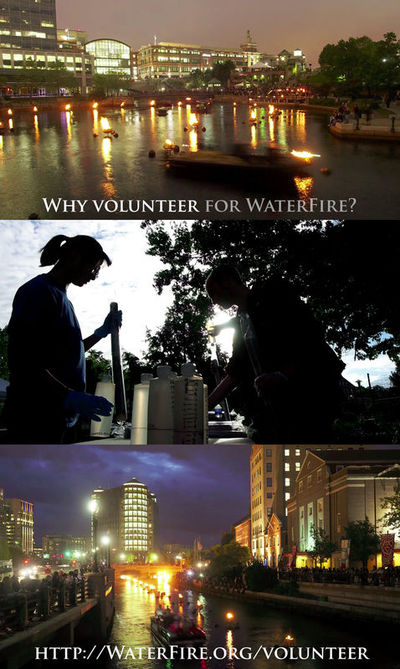Waterfire vid pstr