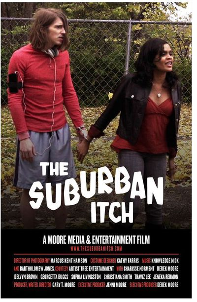 Poster suburban itch as jpeg file