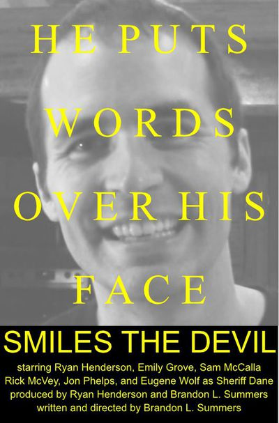 Smiles the devil poster